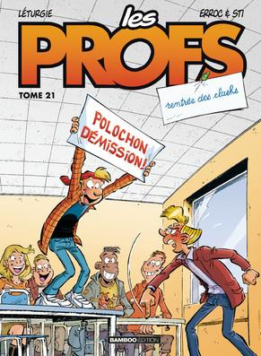 LES PROFS - TOME 21 XXX BAMBOO
